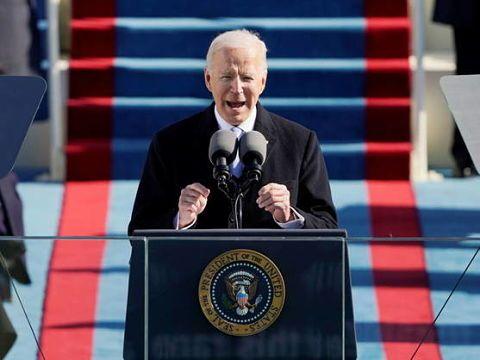 El nuevo Presidente de EEUU, Joe Biden, confiesa que la sociedad Norteamericana está «profundamente dividida»