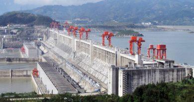 China maneja el sistema hidroeléctrico mundial, alberga 5 de las 10 centrales más grandes que existen en el planeta