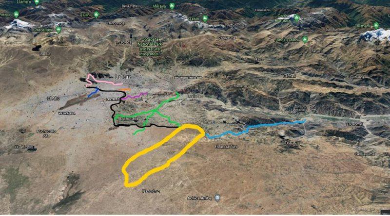 Proponen nuevo aeropuerto para La Paz en Nazo Cruz y potenciar el turismo con el Salar de Uyuni